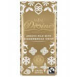 Divine Milk Chocolate Gingerbread Crisp - 90g Bar