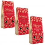 Divine Milk Chocolate Hearts - 3 Pack