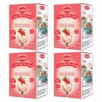 EasiYo Greek Style Strawberry - 4 Boxes of 2 Sachets - Clearance