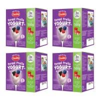 EasiYo Forest Fruits - 500g (Multipak) - 4 boxes (12 Sachets)
