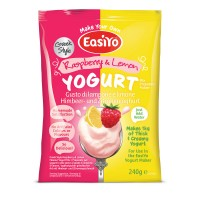 EasiYo Greek Style Lemon & Raspberry - NEW