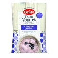 EasiYo Blueberries and Cream Yogurt Mix