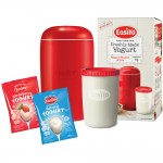 EasiYo Red Yogurt Maker Starter + 2 Sachets